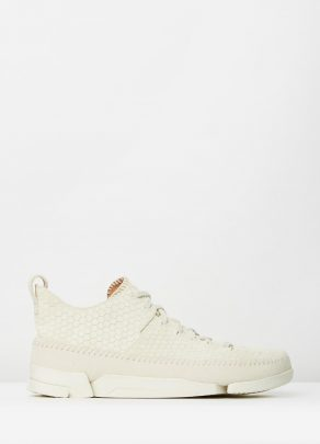Clarks Originals Trigenic Flex Off White Interest Suede 1