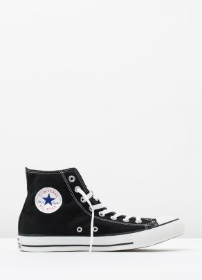 Converse Mens Chuck Taylor All Star Hi Black 1