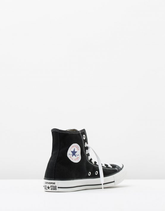 Converse Mens Chuck Taylor All Star Hi Black 2