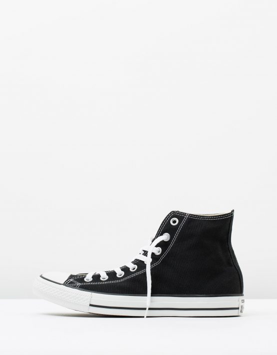 Converse Mens Chuck Taylor All Star Hi Black 3