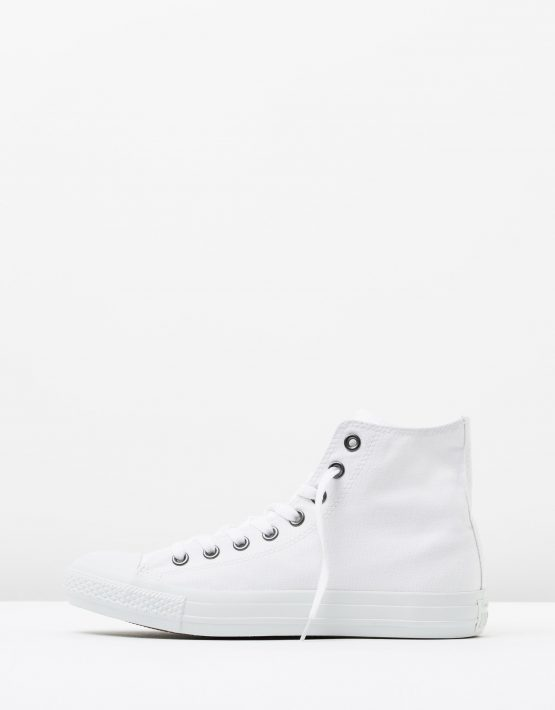 Converse Mens Chuck Taylor All Star Hi White Monochrome 3