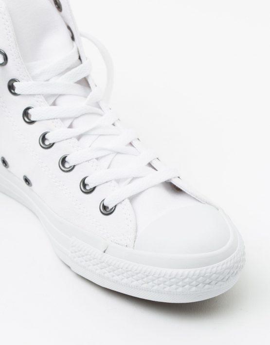 Converse Mens Chuck Taylor All Star Hi White Monochrome 4