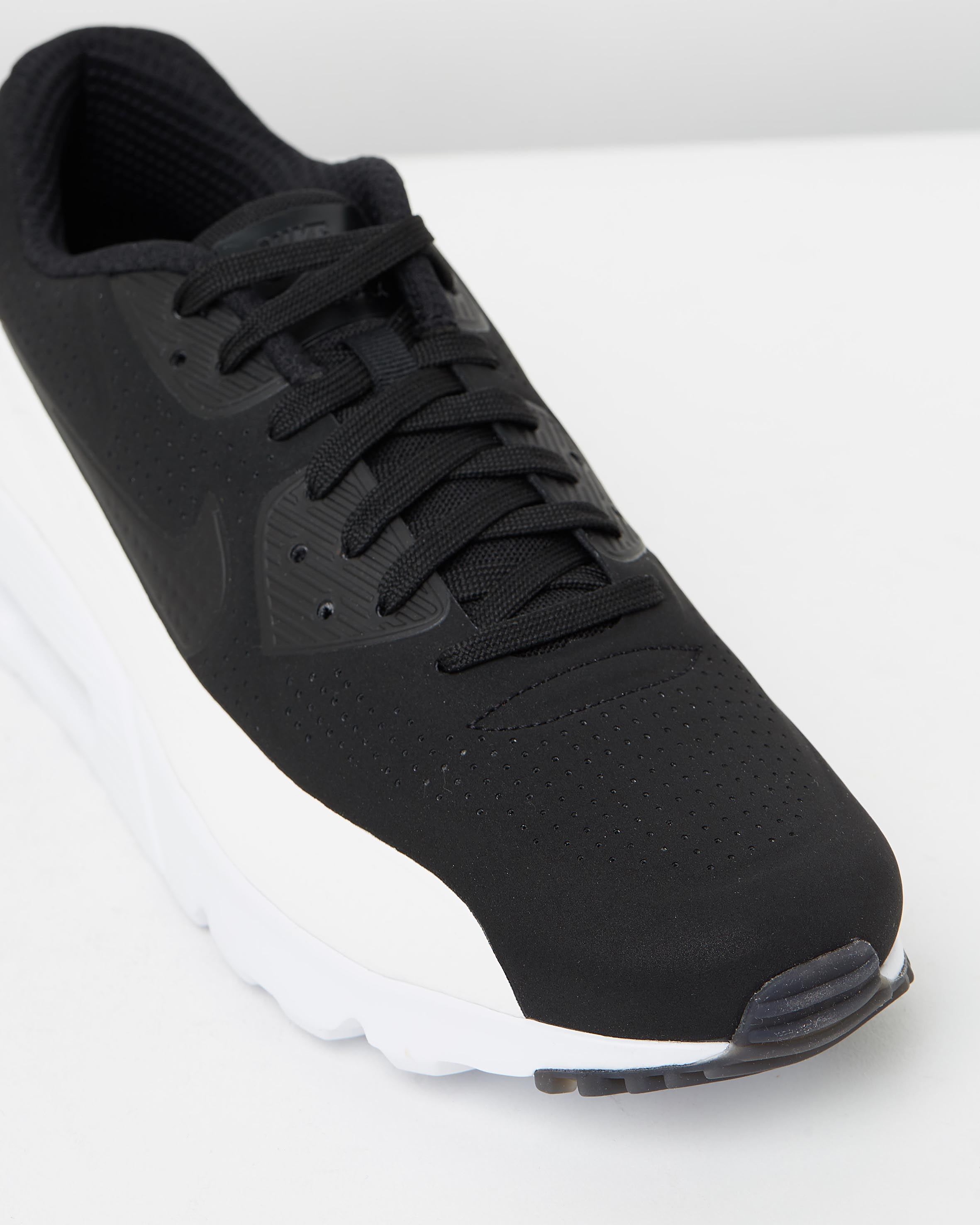 best sneakers f9b73 e2308 ... Nike Air Max 90 Ultra Moire Black White 4
