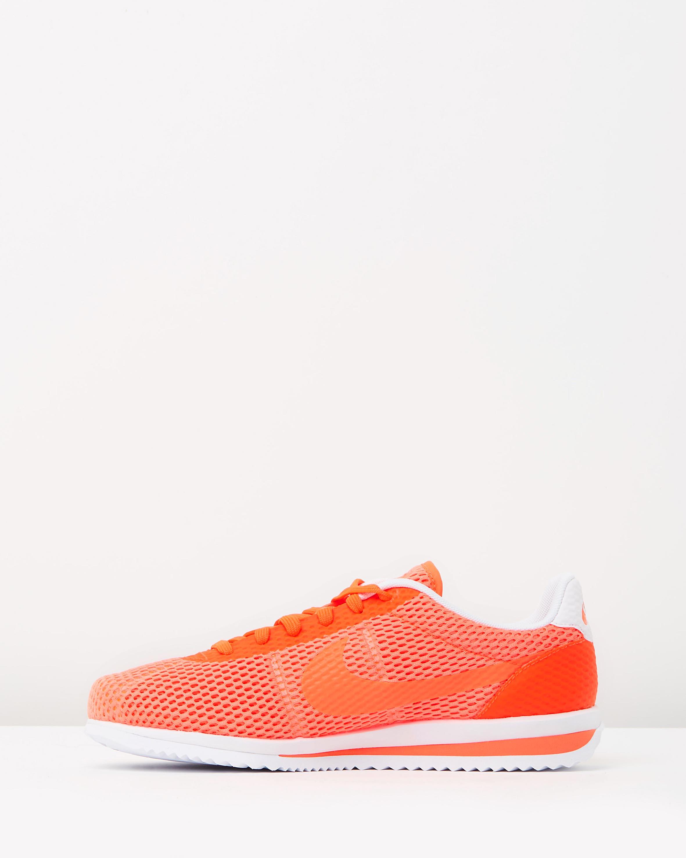 Nike Cortez Ultra Br Total Crimson Amp White Sneaker Store