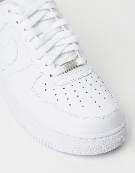 Nike Men's Air Force 1 '07 White Sneakers 4