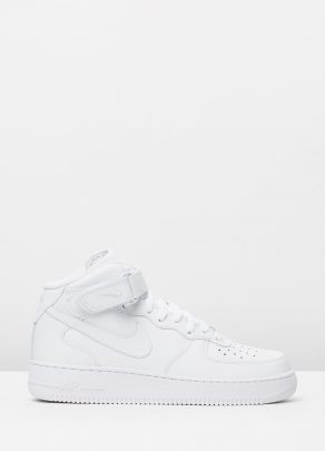 Nike Mens Air Force 1 Mid 07 White 1