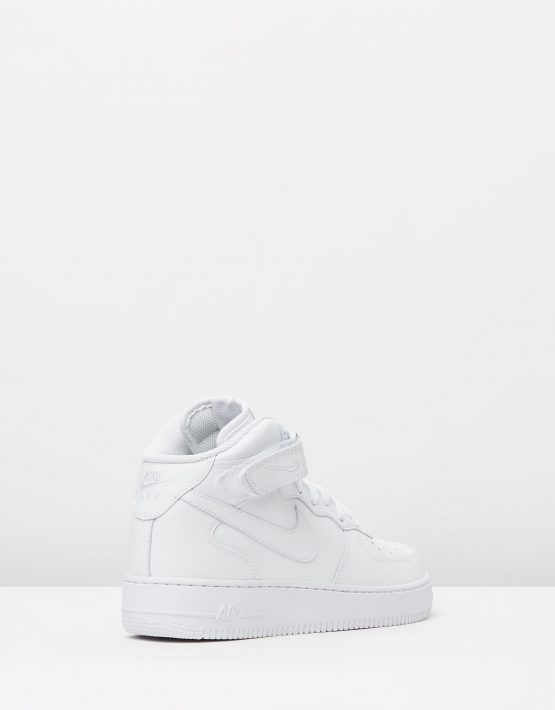 Nike Mens Air Force 1 Mid 07 White 2