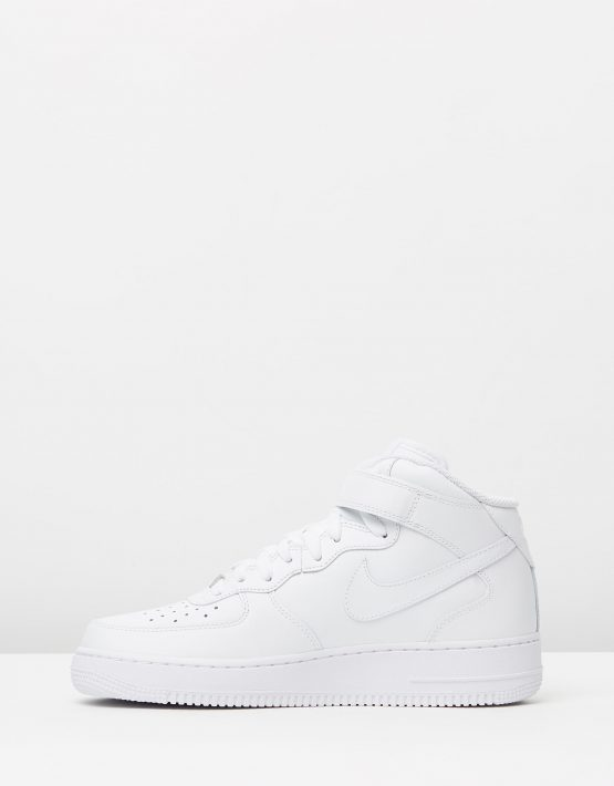 Nike Mens Air Force 1 Mid 07 White 3