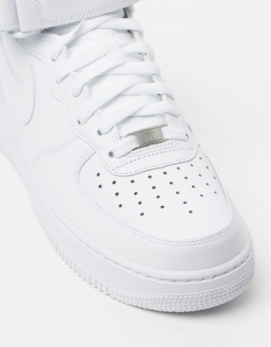 Nike Mens Air Force 1 Mid 07 White 4
