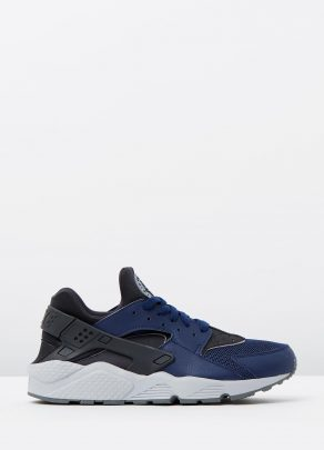 Nike Mens Air Huarache Mid Navy 1