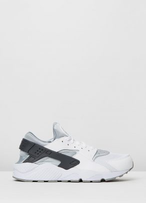 Nike Mens Air Huarache White Wolf Grey 1