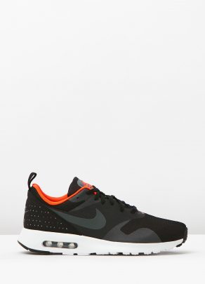 Nike Mens Air Max Tavas Black Dark Grey 1