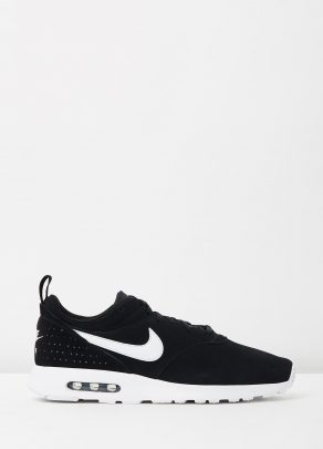Nike Mens Air Max Tavas Leather Black White 1