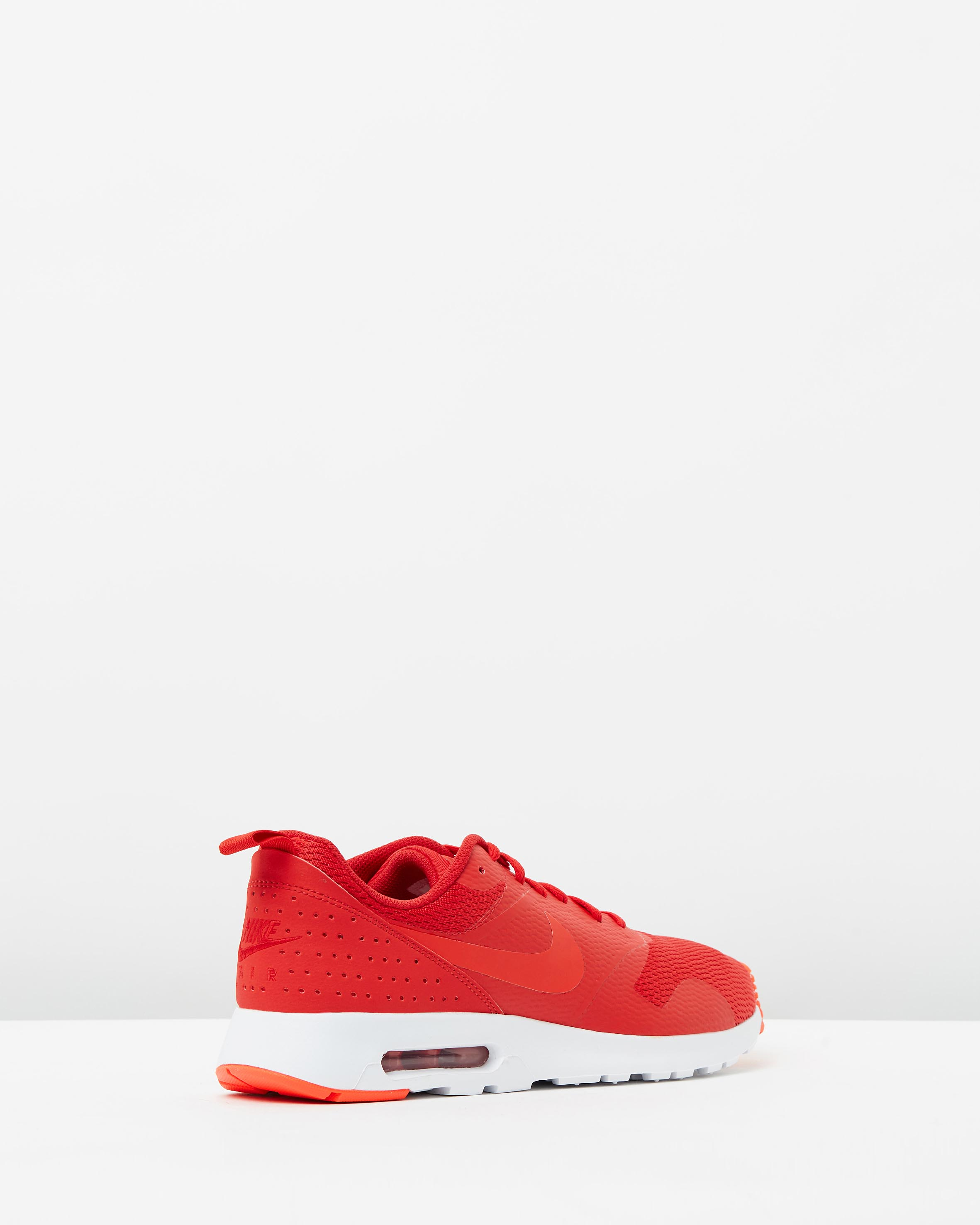 bd12261aa2fd ... Nike Mens Air Max Tavas Leather University Red 2 ...