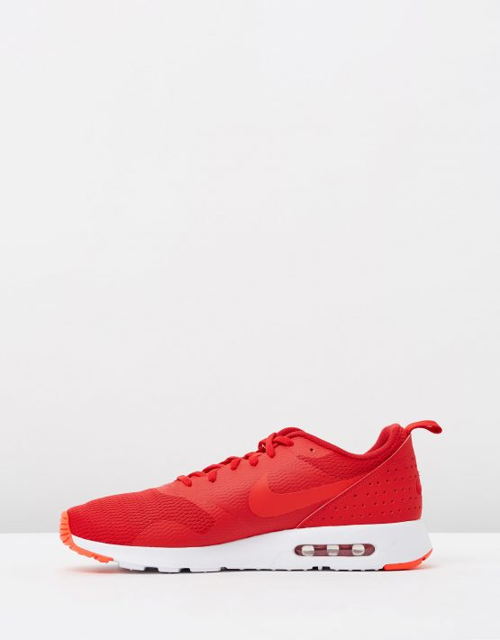 Nike Mens Air Max Tavas Leather University Red 3