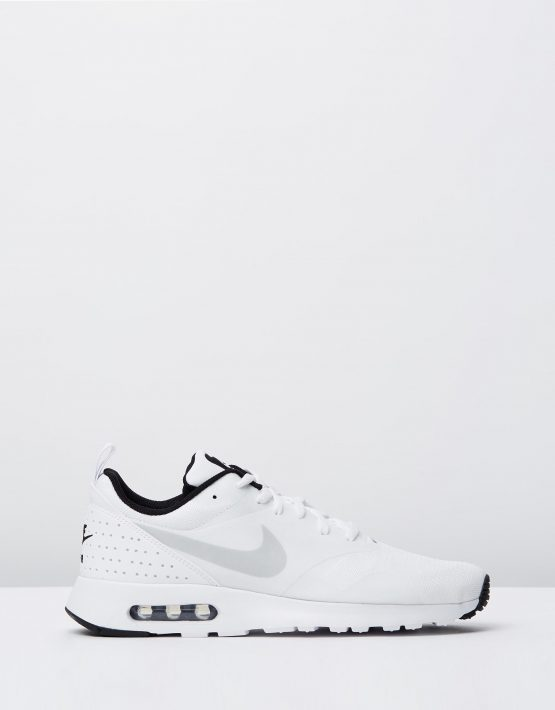 Nike Mens Air Max Tavas White Pure Platinum Black 1