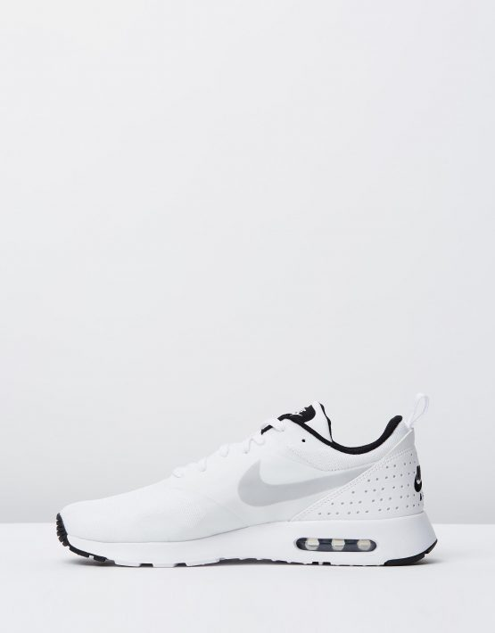 Nike Mens Air Max Tavas White Pure Platinum Black 3