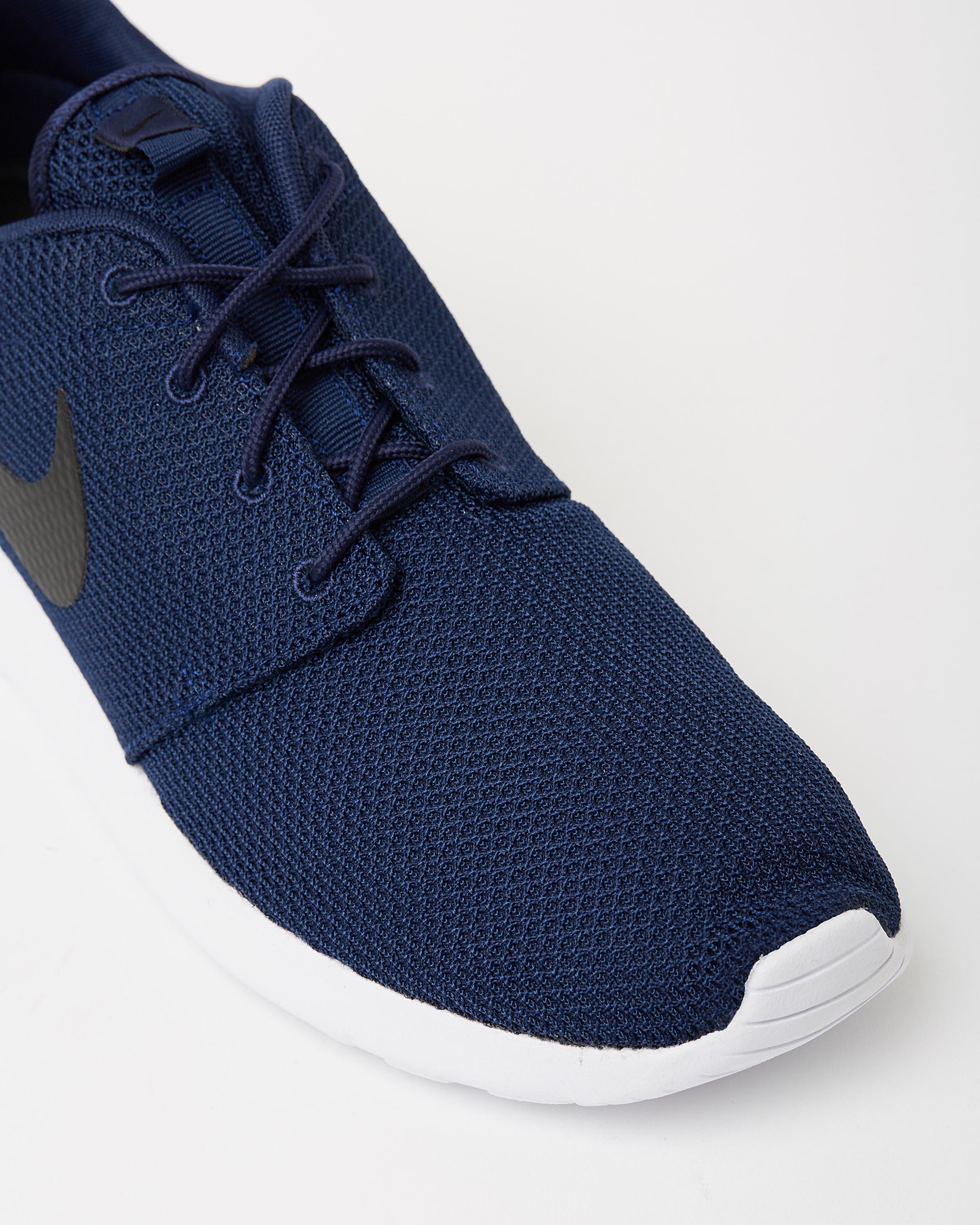 best website 81096 b1c31 ... Nike Mens Roshe One Midnight Navy Black White 4