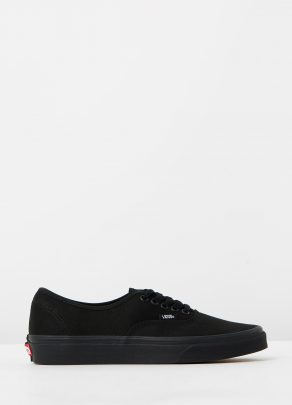 Vans Authentic Black Black Mens Trainers 1