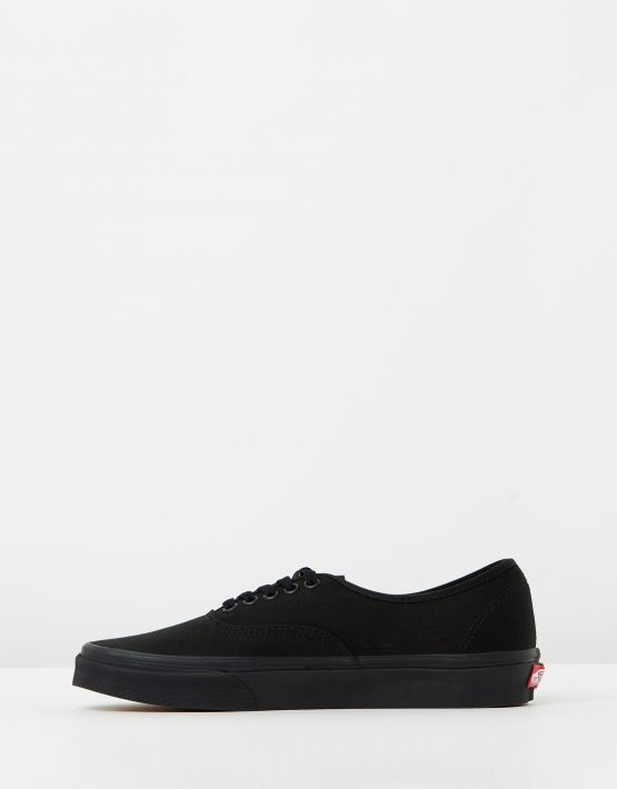Vans Authentic Black Black Mens Trainers 3