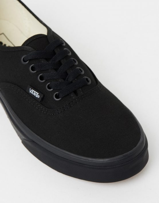 Vans Authentic Black Black Mens Trainers 4