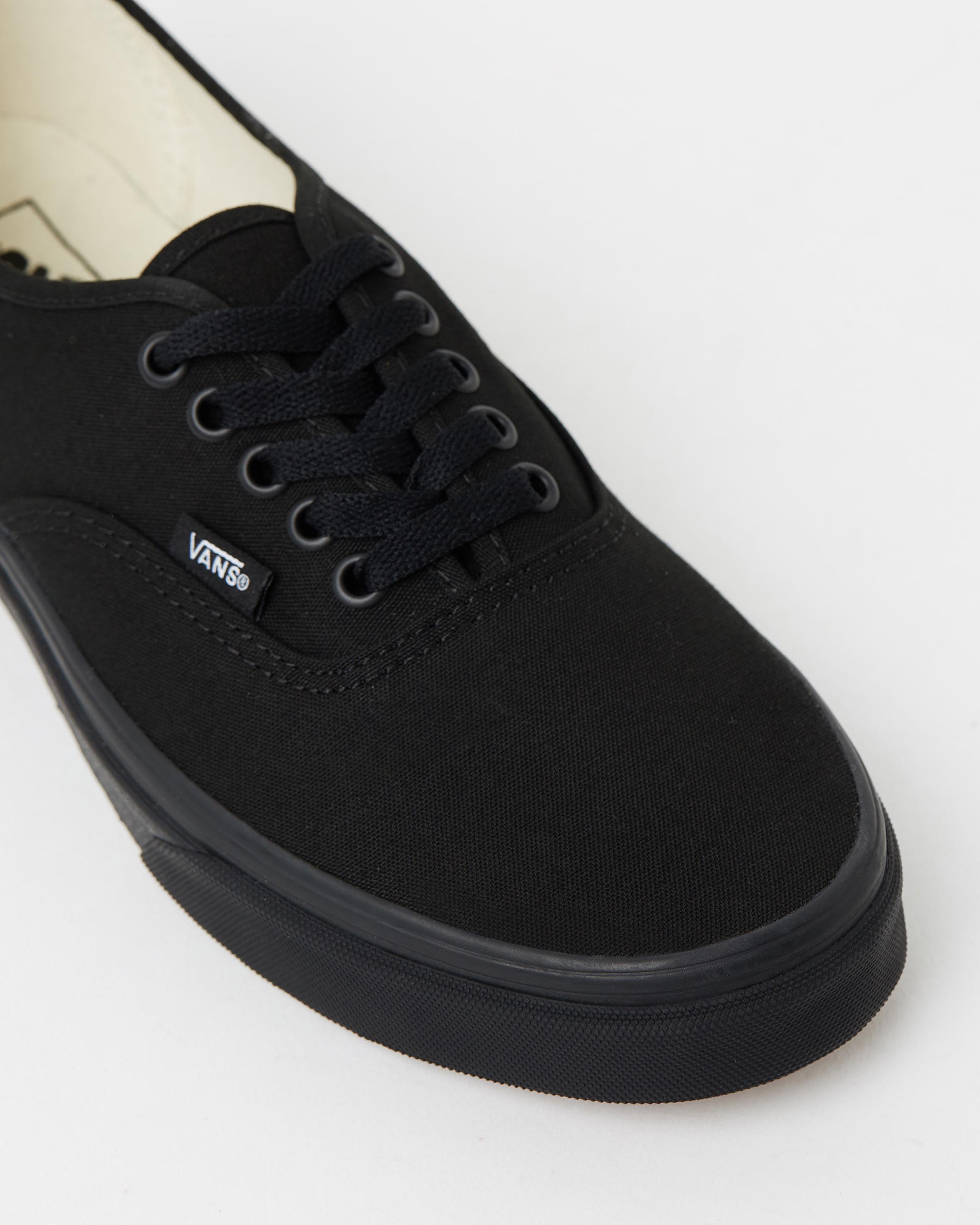dd2d5e7188 ... Vans Authentic Black Black Mens Trainers 4