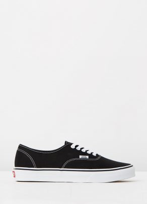 Vans Authentic Black Mens Trainers 1