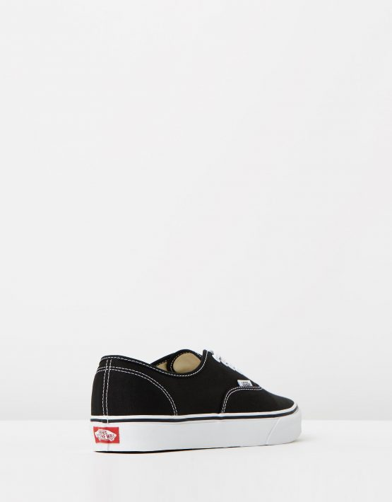 Vans Authentic Black Mens Trainers 2