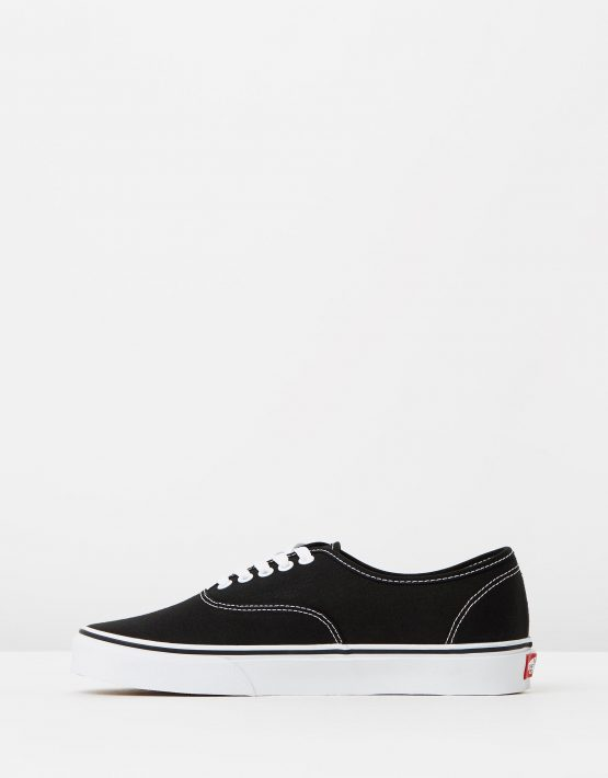 Vans Authentic Black Mens Trainers 3
