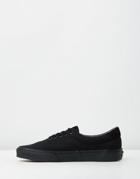 Vans Era 59 Cord Plaid Black 3
