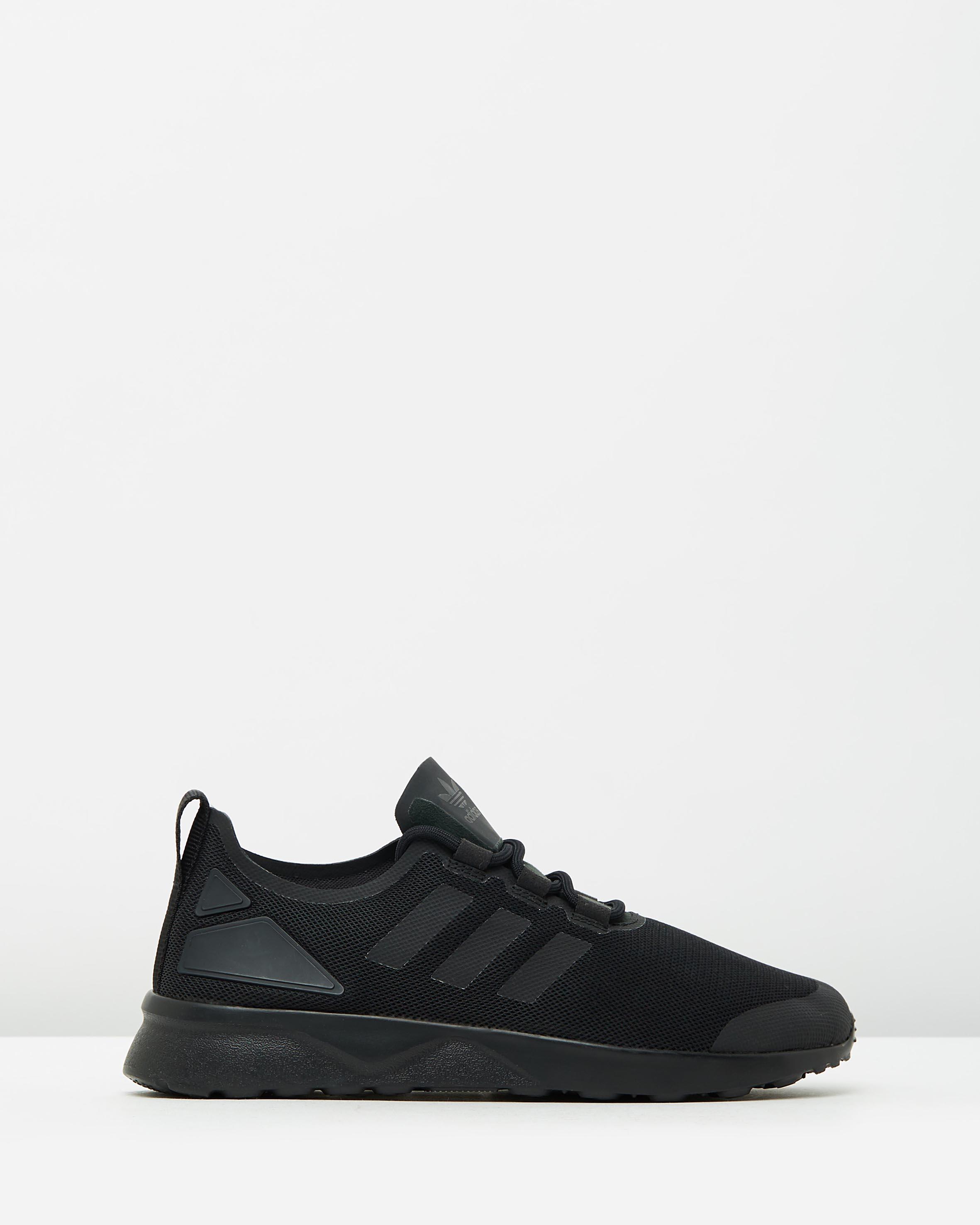 2b819cf19b38e Adidas Womens ZX Flux Adv Verve W Black 1 ...