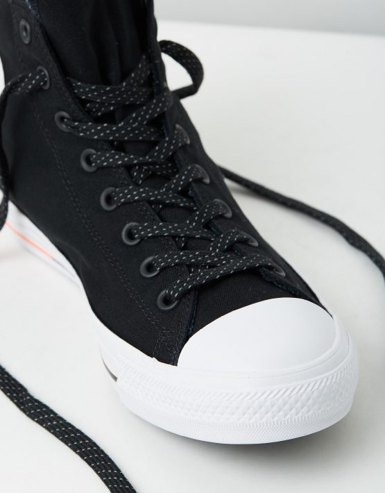 Converse Chuck Taylor All Star Hi Shield Canvas Black White Lava 4