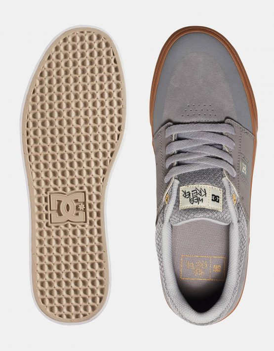 DC Mens Wes Kremer Shoe Grey Gum 2