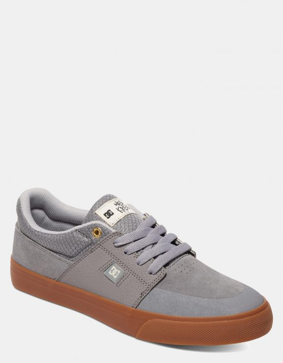 DC Mens Wes Kremer Shoe Grey Gum 3