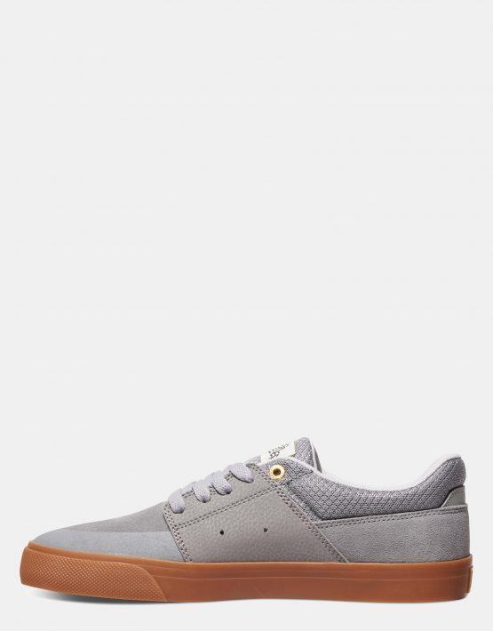 DC Mens Wes Kremer Shoe Grey Gum 4