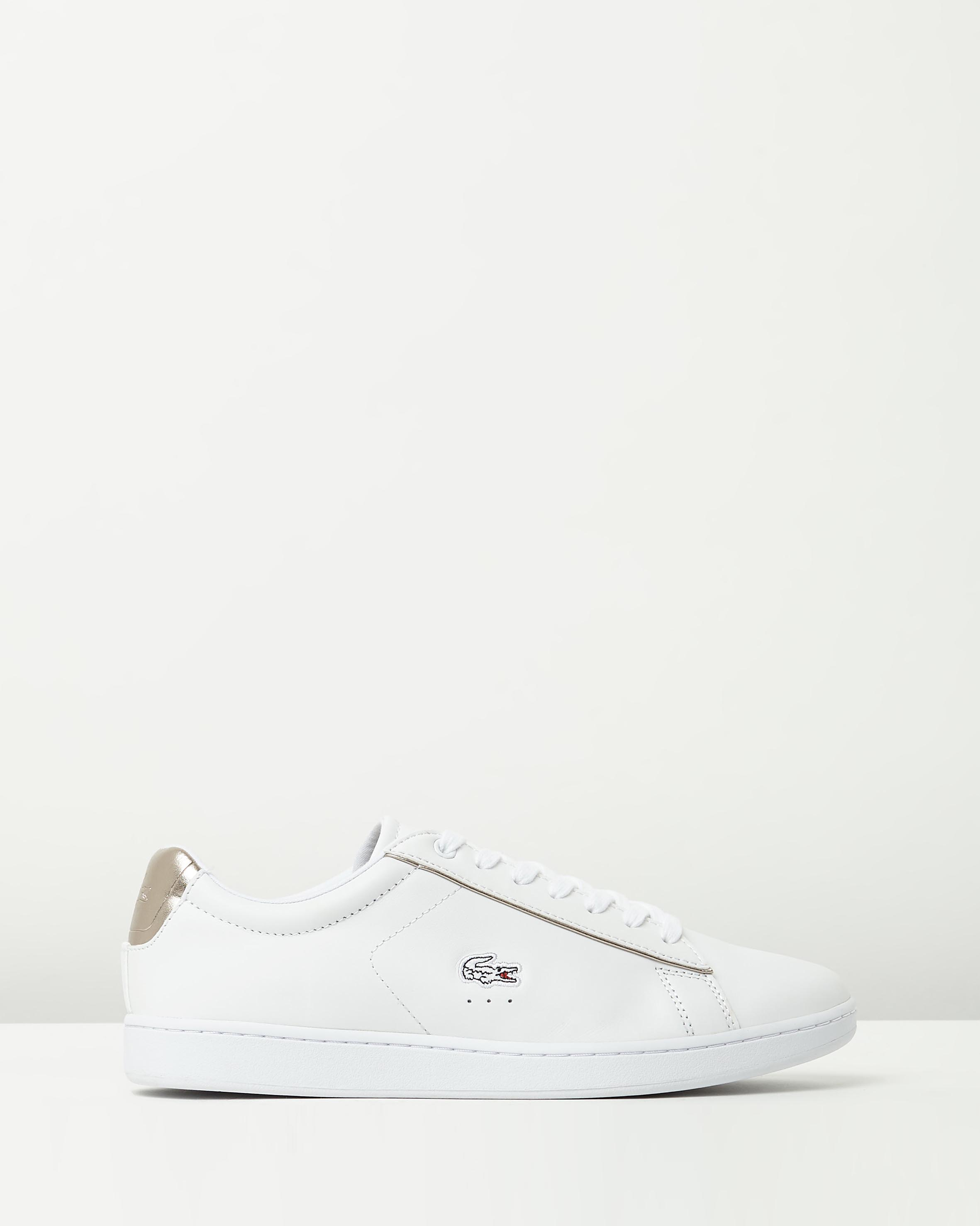 2e0d272dda368f Lacoste Womens Carnaby EVO 316 White Sneaker 1 ...