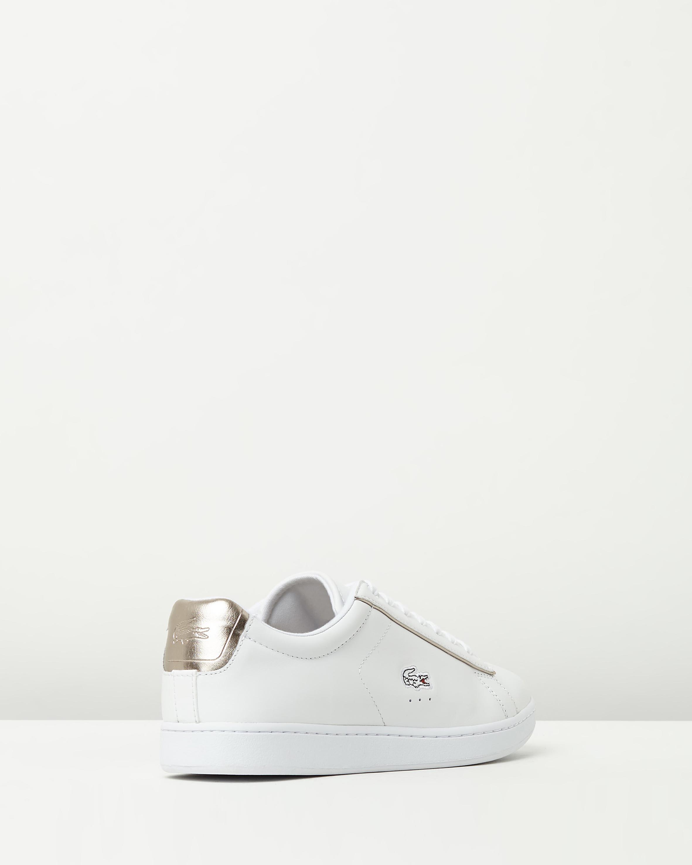 8f9c8fb9dc2a1e ... Lacoste Womens Carnaby EVO 316 White Sneaker 2 ...