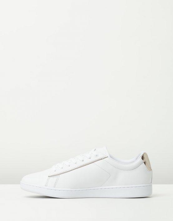Lacoste Womens Carnaby EVO 316 White Sneaker 3