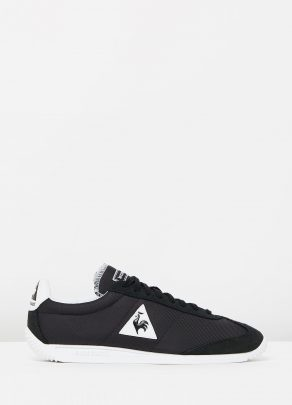 Le Coq Sportif Quartz Nylon Sneakers In Black 1