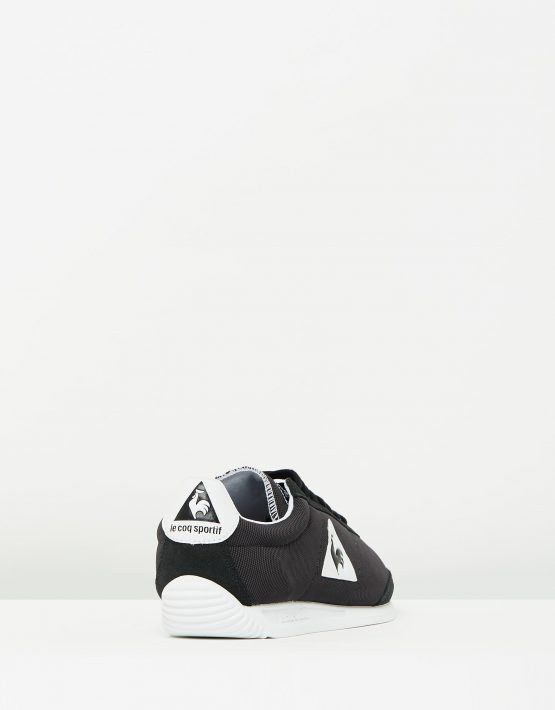 Le Coq Sportif Quartz Nylon Sneakers In Black 2