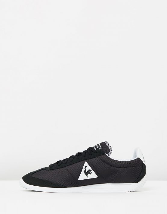 Le Coq Sportif Quartz Nylon Sneakers In Black 3