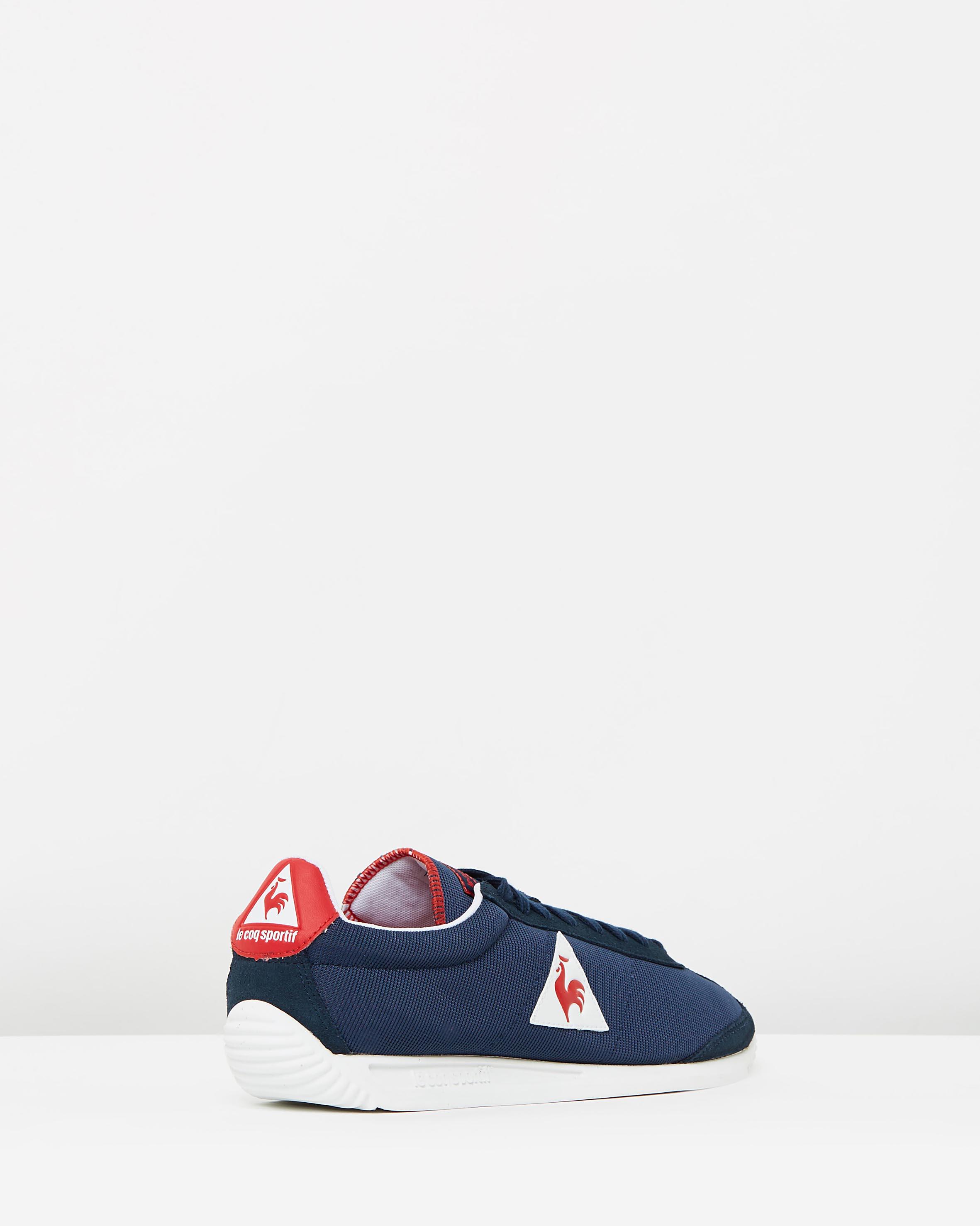 72d18f2ee01e ... Le Coq Sportif Quartz Nylon Sneakers In Dress Blue 2 ...