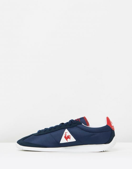 Le Coq Sportif Quartz Nylon Sneakers In Dress Blue 3