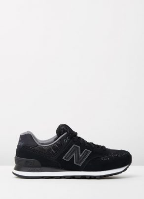 New Balance Womens WL574 Nouveau Lace Black 1