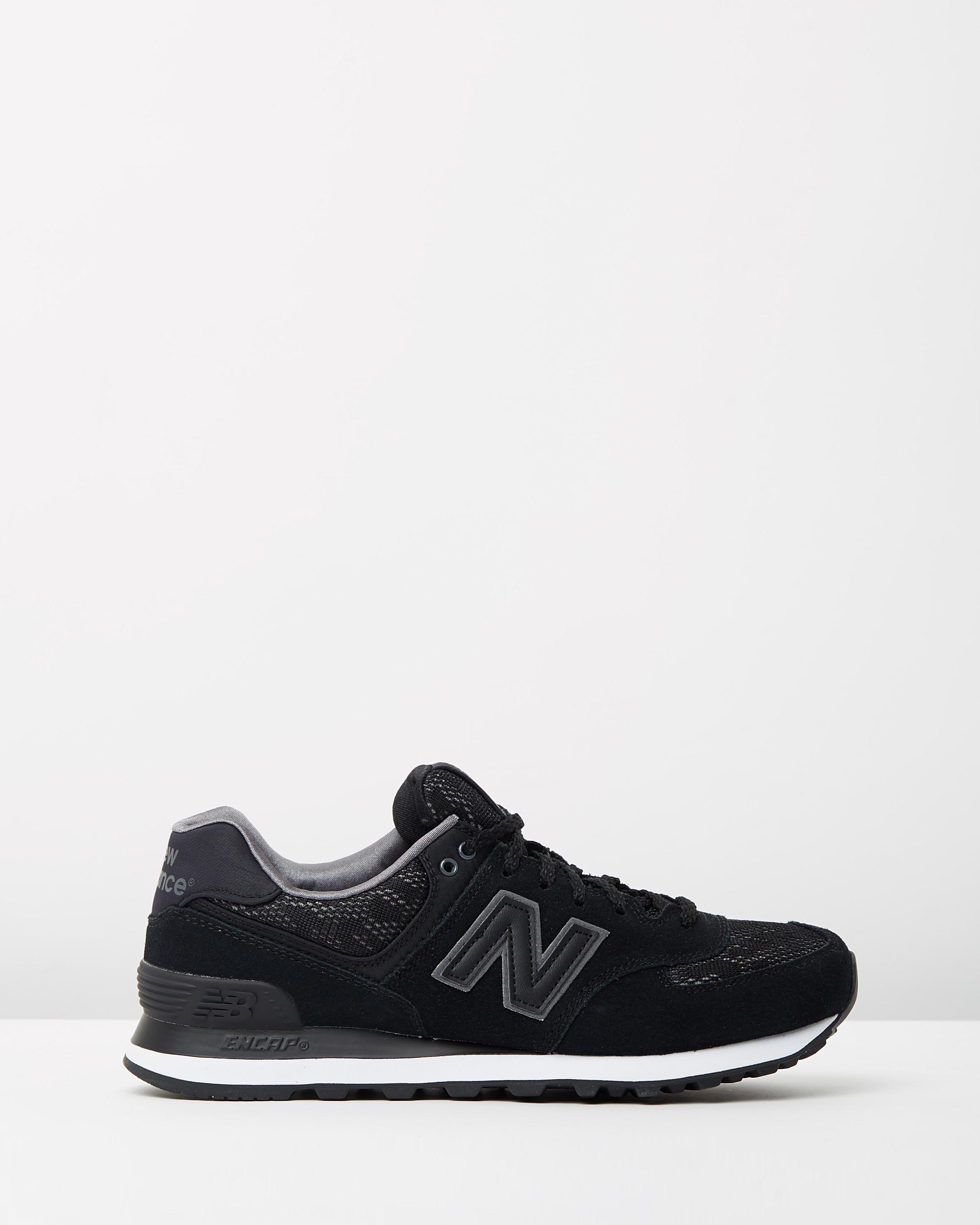 black new balance women's