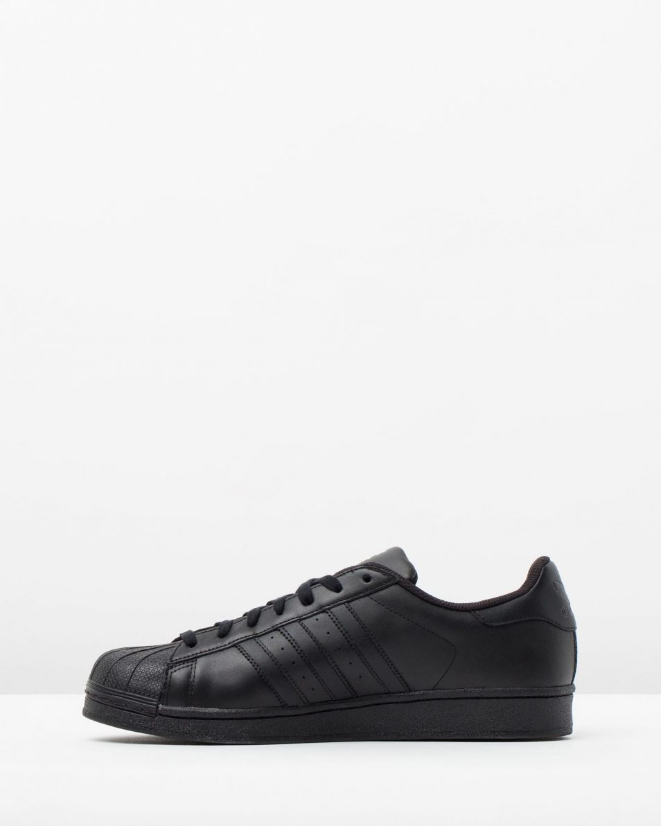 Adidas Originals Mens Superstar Black 3