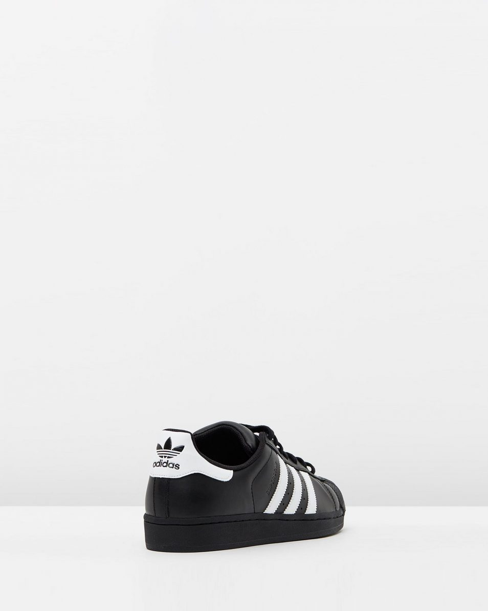 Adidas Originals Womens Superstar Black White 2