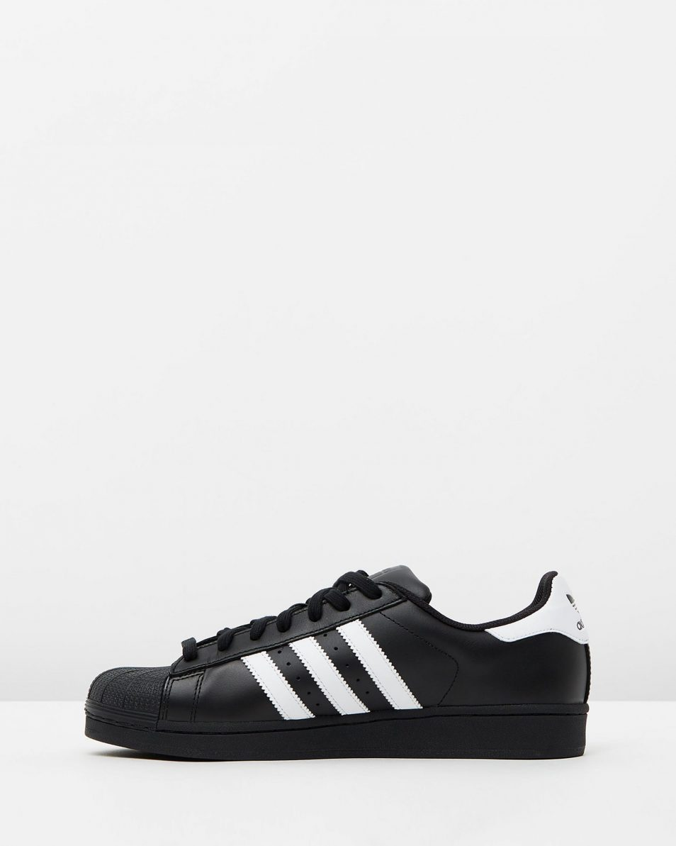 Adidas Originals Womens Superstar Black White 3