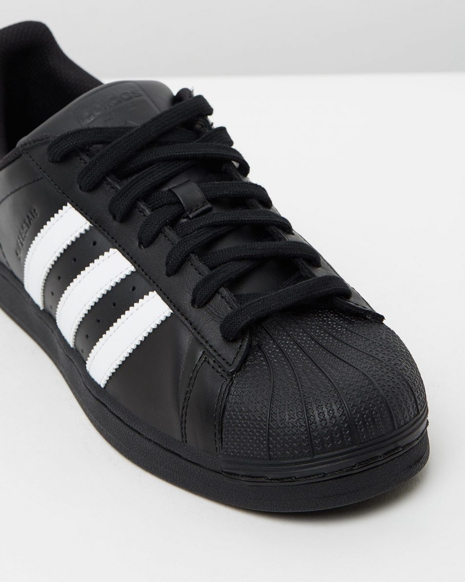 Adidas Originals Womens Superstar Black White 4