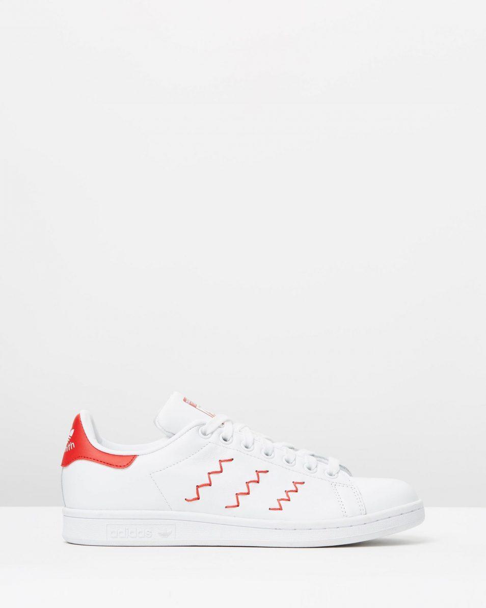 Adidas Womens Stan Smith W Red White 1